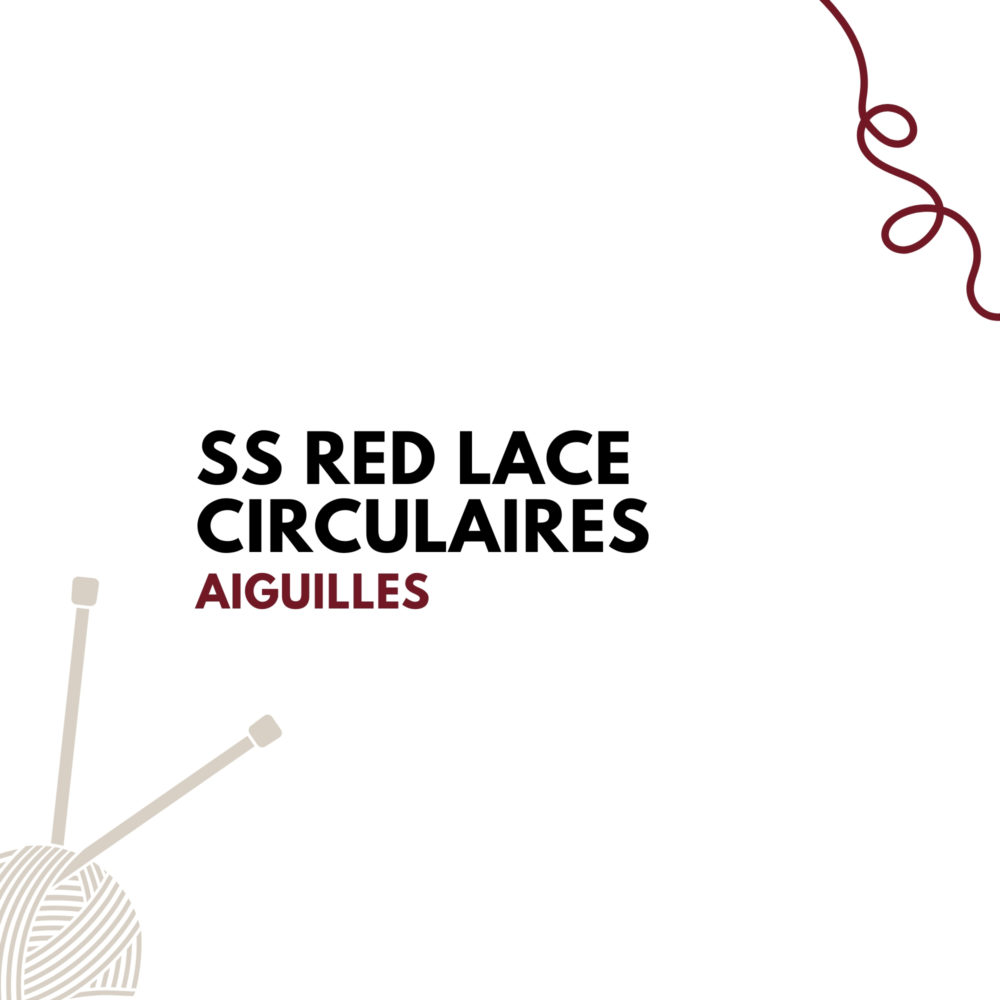 SS Red Lace Circulaires