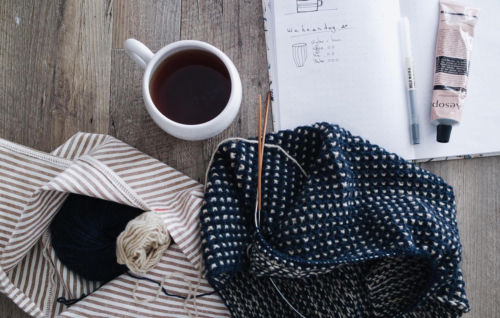 Cours de tricot et café